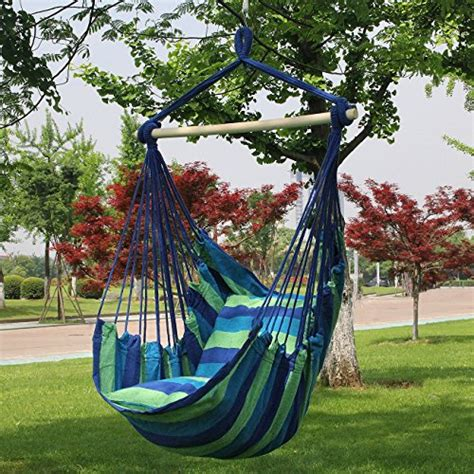 sorbus hanging rope hammock chair swing sorbus blue hanging rope hammock chair swing seat