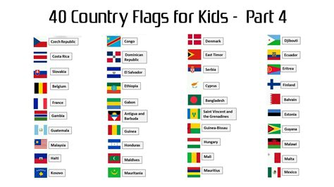 country names 40 country flags with names for part 4 hd wallpapers wallpapers