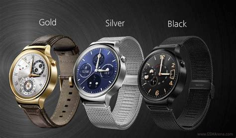 android wear price huawei has classic looks runs android wear gsmarena news