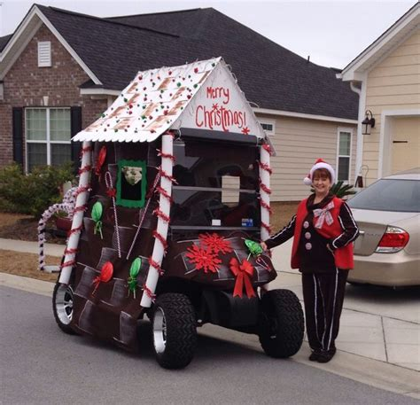 golf carts decerated for christnas 307 best images about golf cart decorations on trees snowman and