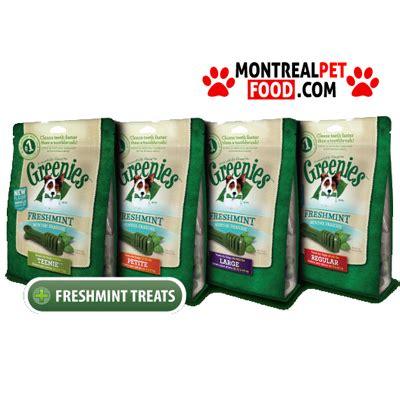 Greenies Freshmint greenies dental treat for fresh mint montreal pet food