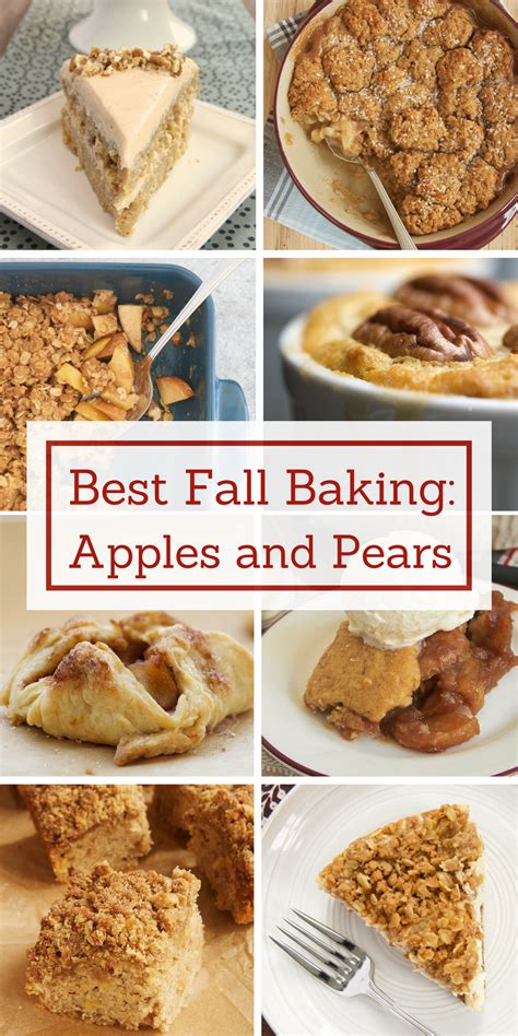 best fall baking recipes apples and pears bake or break howldb