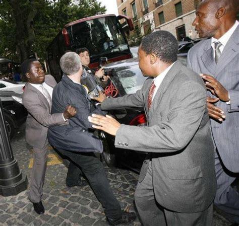 Mahmoud Ahmadinejad ahmadinejad mugabe given cold shoulder at summit the