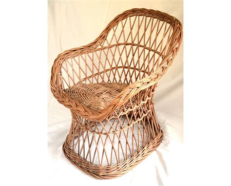 wicker chair willow child chair willow chair