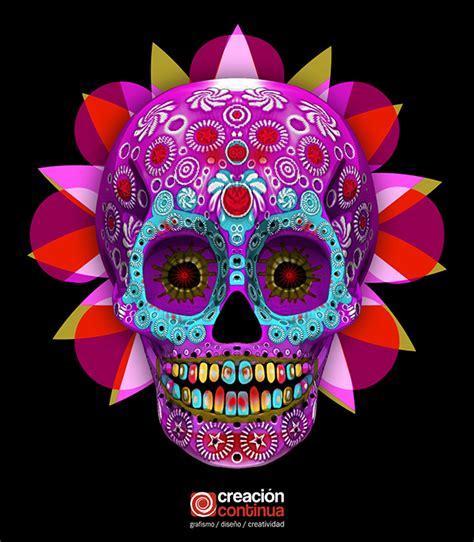 imagenes de calaveras en 3d calavera mexicana 3d on behance