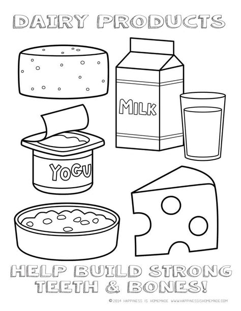 Pin Food Groups Coloring Page On Pinterest Food Groups Coloring Pages