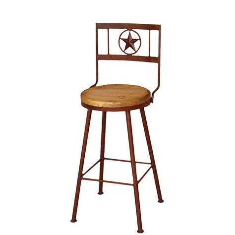 rustic bar stools swivel rustic pine collection short swivel star bar stool ban721