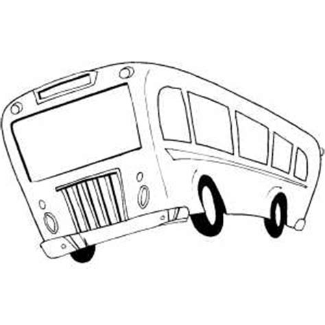 moving truck coloring page moving bus coloring page
