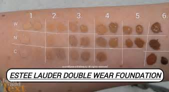 estee lauder wear color chart estee lauder wear foundation review swatches of