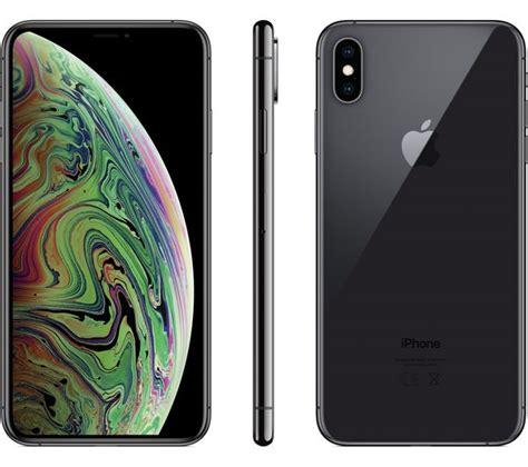 buy apple iphone xs max 512 gb space grey free delivery currys