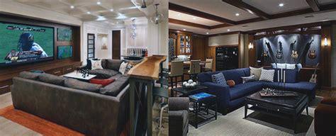 for basement 70 home basement design ideas for masculine retreats