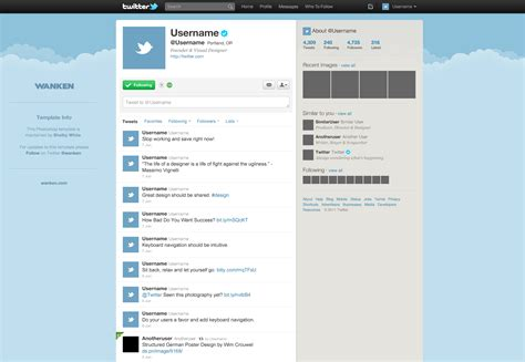 tweet template image gallery template