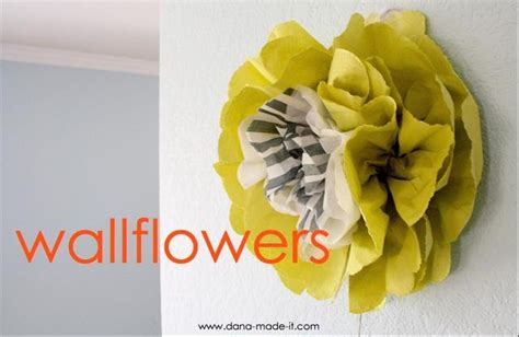 paper flower wall tutorial it s written on the wall tutorial wall flowers made out