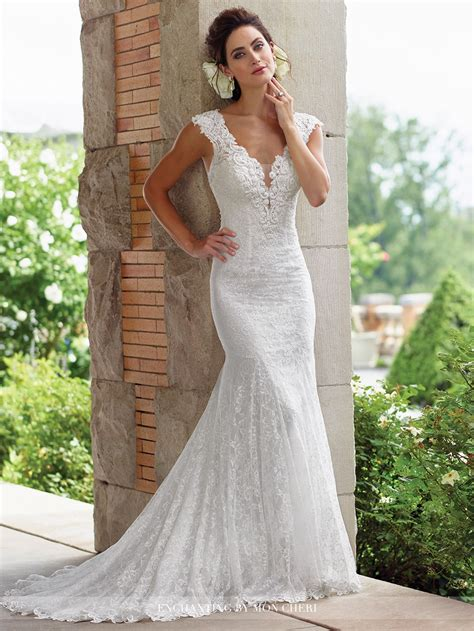 Wedding Wedding Dresses by Enchanting By Mon Cheri 117193 Wedding Dress