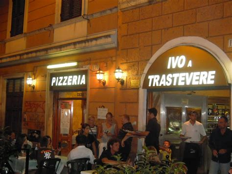best restaurant in trastevere rome italy italy food wine tours best pizza restaurant in rome