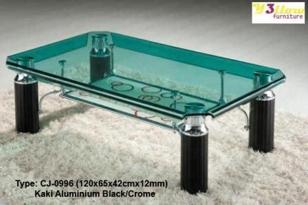 Meja Tamu Kaca Hwg Meja Tamu Kaca Type Cj 0996 Kemenangan Jaya Furniture