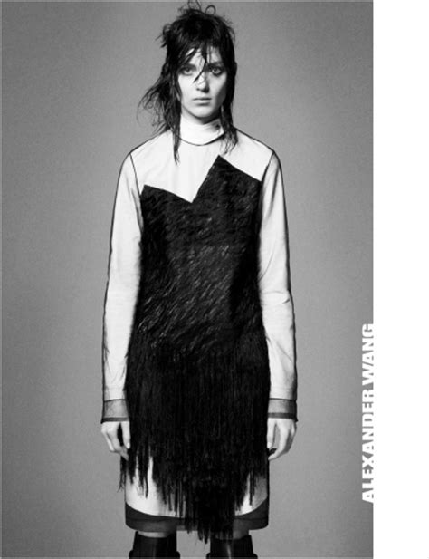 Kati Nescher by David Sims for Alexander Wang Fall Winter