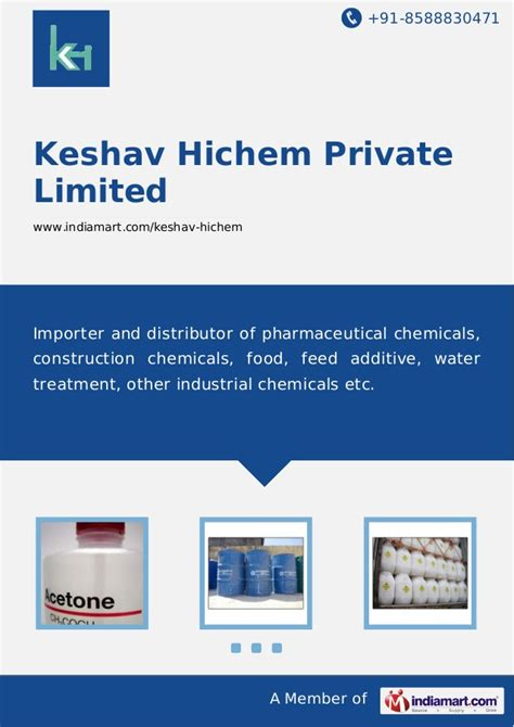 Daster Lowo New Delhi Limited 1 keshav hichem limited new delhi industrial chemicals