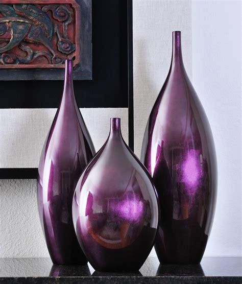 Purple Floor Vases bud vases