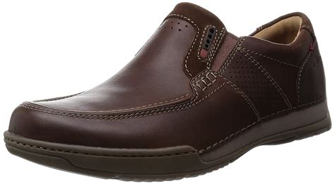 Promo Footstep Costa Brown Derby Boots Loafers Footstep discount clarks s shoes loafer flats sale in