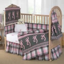 browning buckmark plaid crib bedding collection