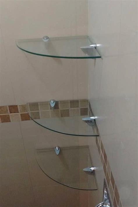 decoracion con espejos y repisas kit de repisas de cristal para ba 241 o 1 250 00 en