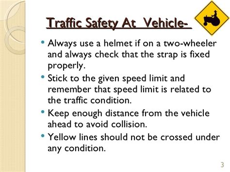 Helm Mds Projet St Yellow Line traffic