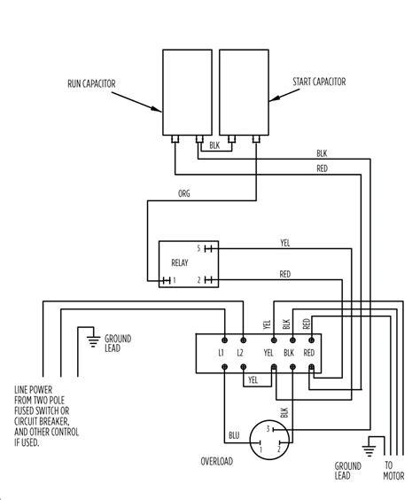 leeson motors wiring diagrams impremedia net