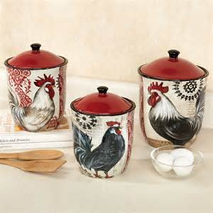 Rooster Kitchen Canisters by Rooster Canisters From Target Related Keywords