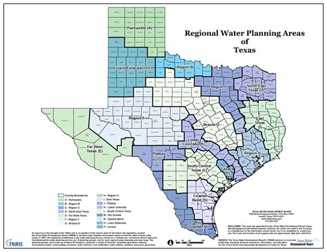 texas water districts map maps central texas groundwater conservation district