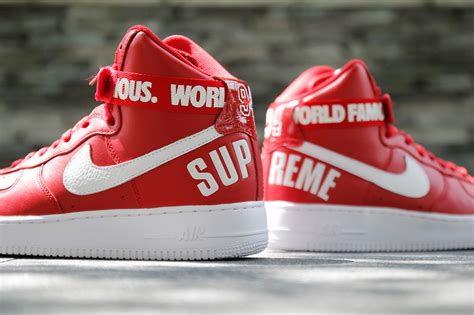 supreme nike air 1 supreme x nike air 1 high red rudeboyy