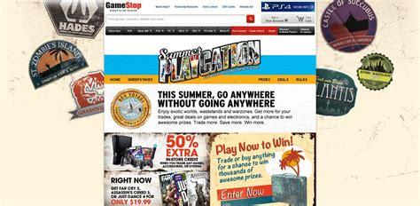 Gamestop Sweepstakes - gamestop com playcation gamestop summer playcation sweepstakes