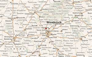 map of woodstock woodstock location guide