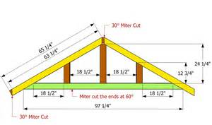 Roof Building Plans shaped roof howtospecialist how to build step by step diy plans