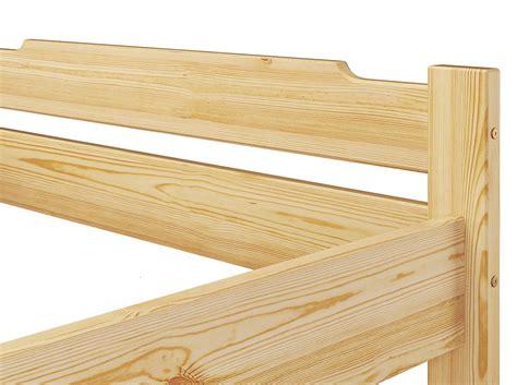 futon matratze 100x200 einzelbett jugendbett kiefer futon 100x200 cm bettgestell