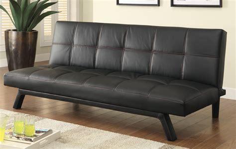 coaster company black sofa bed coaster 500765 sofa bed black 500765 at homelement com