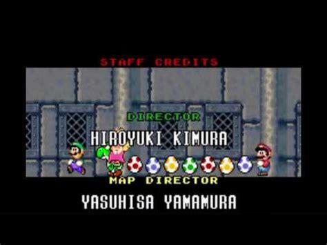 Playthrough Super Mario Advance 2 Smw Color Front Door Mario World