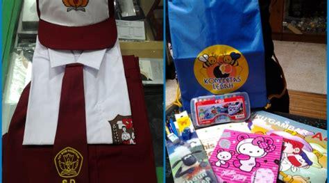 Tas Seragam Sekolah paket seragam tas sekolah komunitas lebah