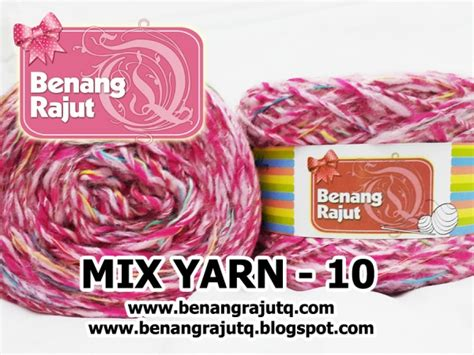 Benang Mix benang rajut limited mix fancy yarn 10 benangrajutq