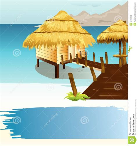 tiki hut roof clip thatch clipart clipground