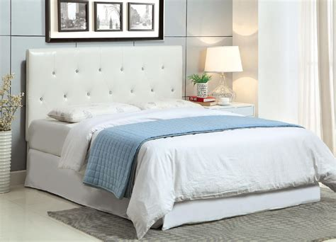 acrylic bedroom furniture furniture of america basteena tufted acrylic accent full