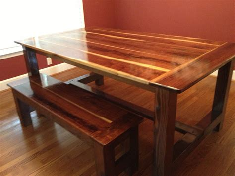 Black Walnut Table by White Black Walnut Farmhouse Table Diy Projects