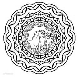Printable Mandala Coloring Pages For Kids  Cool2bKids sketch template