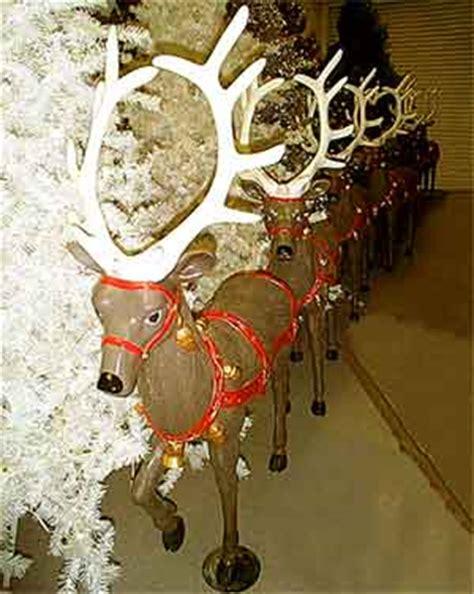fiberglass 12 reindeer reindeer