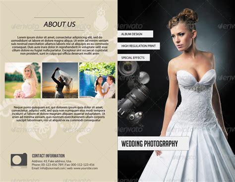 Wedding Album Brochure by 15 Memorable Photography Brochure Templates