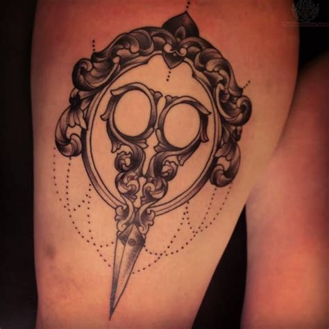 tattoo royale time on hairdresser tattoos scissor