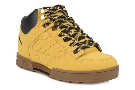 dvs militia boot sport shoes in yellow at sarenza co uk
