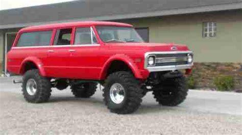 1970 Chevy 4 Door Truck by Purchase New 1970 Chevy 3 Door Suburban 4x4 Custom Built