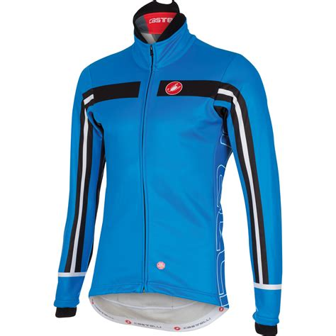 blue cycling jacket wiggle castelli free 3 jacket cycling windproof jackets