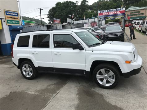 jeep patriot 2017 white used 2017 jeep patriot suv 16 990 00